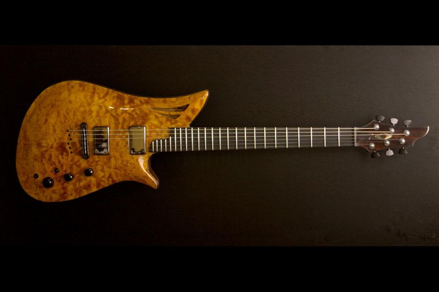 Gold Fusion Guitar