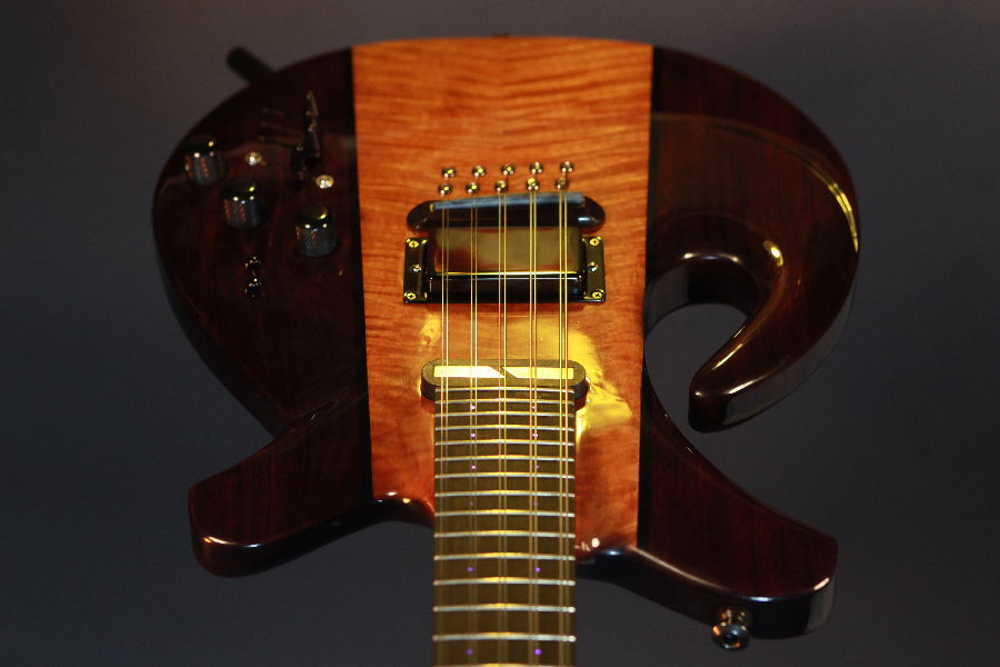 Midi Controller Electric Mandolin Front View Two